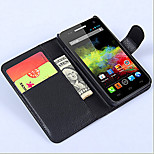 Protective Sleeve Of Litchi Grain Holder For Wiko Sunset  Mobile Phone