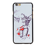 Christmas Style Santa Sending Gifts Pattern PC Hard Back Cover for iPhone 6