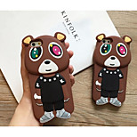 Silicone Material Naughty Bear Style for iPhone 5/5S