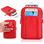 Polyester Knit Material Bunk Wear Waist Diagonal Mountaineering Bag for iPhone 6/6S(Assorted Colors)