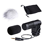 BOYA Audio Stereo X/Y Condenser Microphone BY-V01 for 3.5mm Mini inputs DSLR Cameras