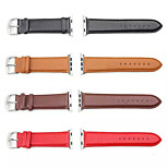 Leather Watchband Sport Band for iWatch Watchband With Adapter Assorted Colors
