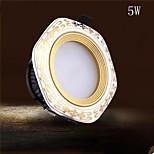 1 pcs Meizhichen 9005 5 W 10 Integrate LED LM Warm White / Cool White Decorative LED Downlights AC 85-265 V