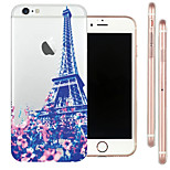 Perfect Close Transmission Tower TPU Material Soft Phone Case for iPhone 6/6S