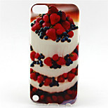 Strawberry Cake Painting Pattern TPU Soft Case for iPod Touch 5/Touch 6