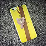 MAYCARI® A Lazy Koala Bear Transparent Soft TPU Back Case for iPhone 6/iphone 6S