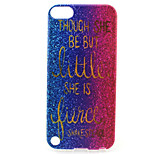 Sand Painting Pattern TPU Soft Case for iPod Touch 5/Touch 6