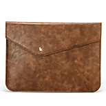 Jisoncase Cooling Luxury Vintage Original Leather Sleeve Case Sleeve Carry for Apple MacBook Air/PRo retina 13
