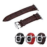 WatChband For Apple iWatch Watchband With Connector For Apple iWatchGenuine Leather Watchband for iWatch 42mm