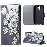 Blooming Flowers Wallet Leather Stand Case for BLU Life X8