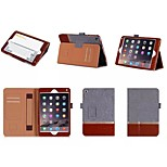 Simple Flip Case Support Leather Case Computer Protection Shell for iphong ipad mini 4