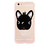 Dog Pattern TPU and PC Material Combo Phone Case for iPhone 6/6S