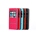 Touch The Magnetic Clamshell Phone Leather Cases for IPHONE 6(Assorted Colors)