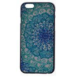 Blue and White Pattern PC Material Phone Case for iPhone 6/6S