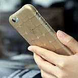 Transparent Grid TPU Material Phone Case for iPhone 6/6S (Assorted Colors)