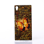 Mysterious Butterfly Pattern TPU Soft Case for Sony M4