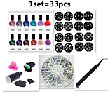 Nail Printing Template Packages(33pcs/set)