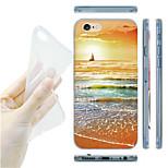 MAYCARI® Sailing Alone Transparent Soft TPU Back Case for iPhone 6/iphone 6S