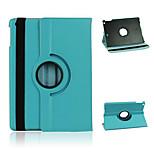 especial diseño de 360 grados de rotación de cuero de la PU caso de cuerpo completo con soporte para iPad de aire / ipad 5 (colores