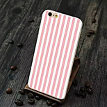 Double Color TPU Vertical Stripes Painted All the Soft Cases for iPhone 5/5S(Assorted Colors)
