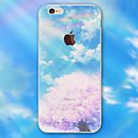 colore paesaggio cassa del telefono materiale modello TPU per il iPhone 6 / 6s