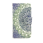 Gradient Emerald PU Leather Wallet Full Body Case with Stand for Huawei G8