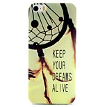 Dreamcatcher Pattern TPU Material Phone Case for iPhone 5/5S