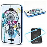 2-in-1 Bumblebee  Dream Bell Phrase Pattern TPU Back Cover + PC Bumper Shockproof Soft Case For Sony E4