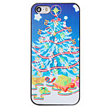 Christmas Style Gifts under Tree Pattern PC Hard Back Cover for iPhone 5/5S