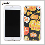 Halloween Series Pumpkin Funny Face Painting Pattern TPU Back Cover for iPhone6 plus
