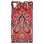 Special Design Pattern PC Material Back Cover for Huawei P7