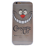 Smiling Teeth Pattern TPU Material Soft Phone Case for iPhone 6/6S