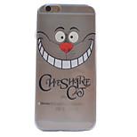 matériau sourire dents modèle TPU cas de téléphone souple pour iPhone 6 / 6s