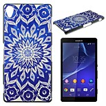 Fashion Colored Drawing Mobile Phone Shell PC for Sony Z1/Z3/Z3mini