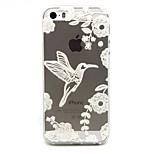 Vögel Muster TPU Entlastung rückseitigen Abdeckung für iphone 5 / iphone 5s