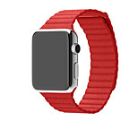 Winding Real Leather Watchband Sport Band for Apple Watch 38mm
