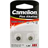 Camelion Alkaline Button Cell  Size AG3 (2pcs)