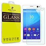 Mr.northjoe® Tempered Glass Film Screen Protector for Sony Xperia C4
