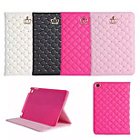 Valuable Crown with Clinch Bolt PU Leather Full Body Case for iPad Minie 4(Assorted Colors)