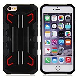 High Quality Robot Pattern Back Cover with Stand for iPhone 6 Plus (Assorted Colors)