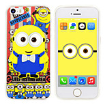iPhone5 Case Minions Despicable Me Silicone Gel TPU material Case Free with Headfore HD Screen Protector for iPhone 5/5s
