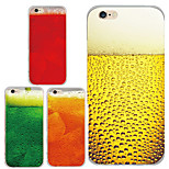 MAYCARI® Cool Summer Drinks Transparent Soft TPU Back Case for iPhone 6/iphone 6S(Assorted Color)