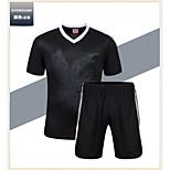 Futebol / Corrida - Conjuntos de Roupas/Ternos ( Others ) - Homens - Respirável / Secagem Rápida / Materiais Leves - Manga Curta
