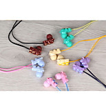 KEEKA KA-26 Stylish In Ear Earphone Noise-Cancelling With Microphone for Cellphone(Assorted Colors)