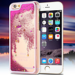 Deluxe Quicksand Bling Star Crystal PC Transparent Hard Back Cover for iPhone 6 Plus/6S Plus(Assorted Colors)
