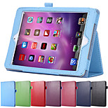 Litchi Oberfläche Flip PU-Leder Tasche für Apple iPad mini 4 mit Retina pfiffig magnetischen Schlaf aufwachen Beutelabdeckung