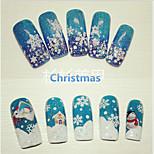 1pcs  Christmas Nail Stickers
