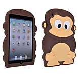 3D Monkey Silicone Soft Cover Case for iPad Mini 3/2/1
