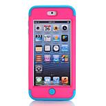 Motif de la nationalité conception 3-in-1 étui de protection pour iPod Touch 6 de couleur assortie