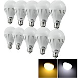 YouOKLight®  10PCS E27 3W CRI>70 6*SMD5630 200LM 6000K/3000K Cool White/ Warm White LED Globe Bulbs (AC 220V)
